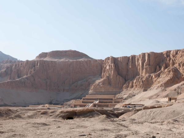 Chrám bohyně Hatšepsut.