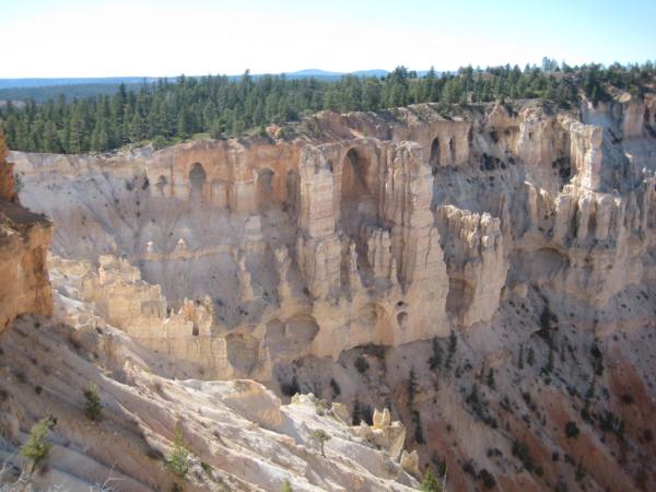 Bryce point a pohled na útvar zvaný Katedrála.