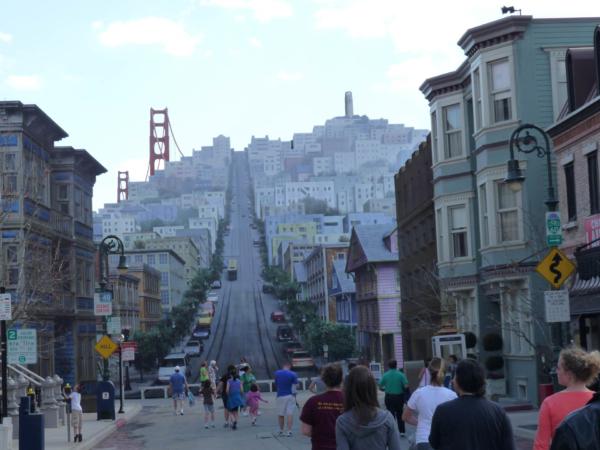A zde pro změnu San Francisca.