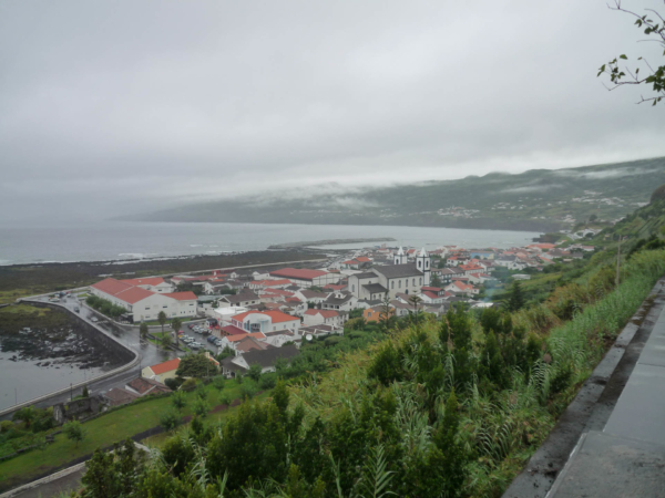 Pohled na Lajes.