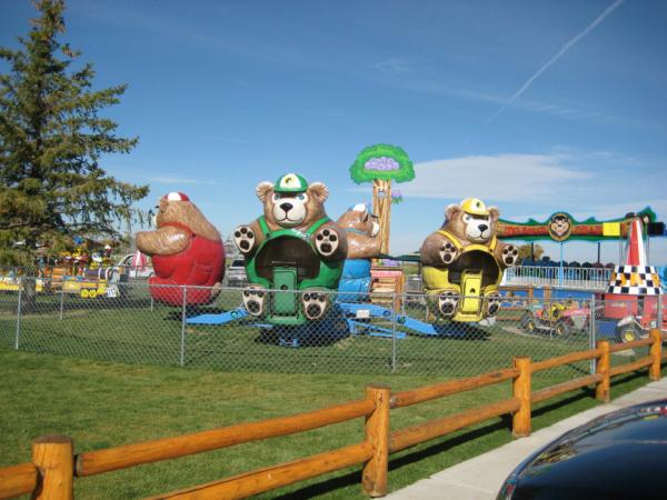A pro děti medvědí houpačky.