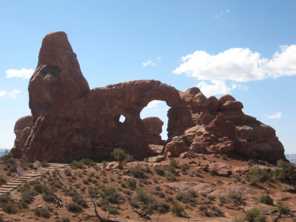 Turret Arch (Věžový oblouk)