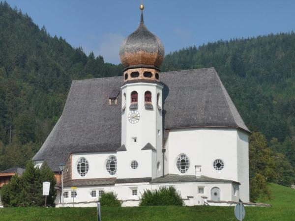 A na závěr krásný kostelíček za Berchtesgadenem.