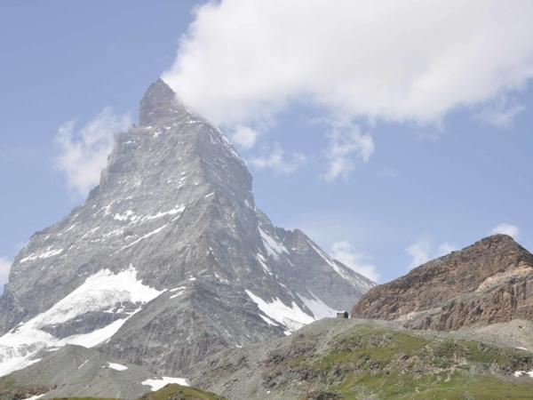 Matternhor je prý jedna z nejfotogeničtějších hor na světě. Tak fotím.