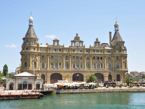Palác v asijské části Istanbulu.