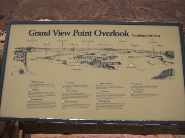 O chvíli později na místě zvaném Grand View point Overlook.