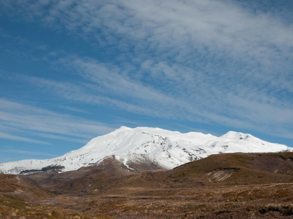Masiv Mount Ruapehu -  2797m.