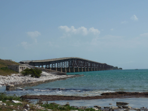 Most staré silnice.