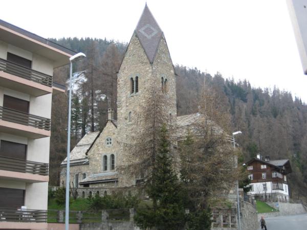 St. Mořic - stavby