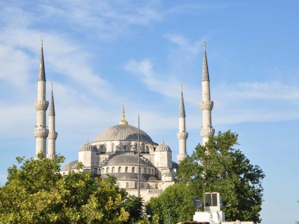 Modrá mešita.