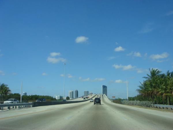 Opouštíme ostrov a jedeme do Miami na pevninu.