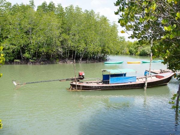 Longboaty mají takovýto pohon - na mělčiny se to vysloveně hodí.