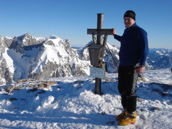 Vrchol Schneibsteinu (2276 m)