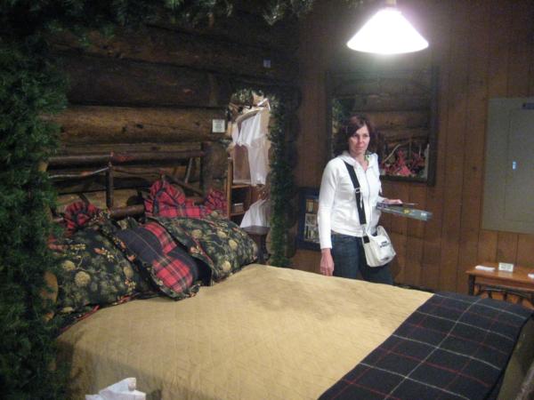 Nebo originál tehdejší postel?