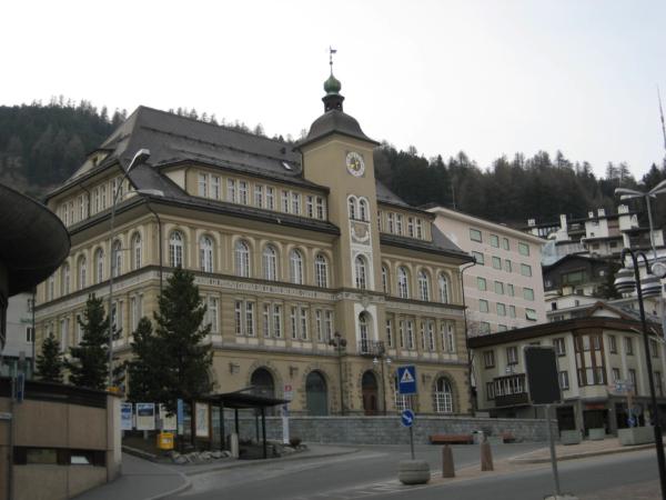 St. Mořic - náměstí.