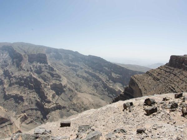 Na horní hraně Grand Canyonu ve výšce 2000 m.
