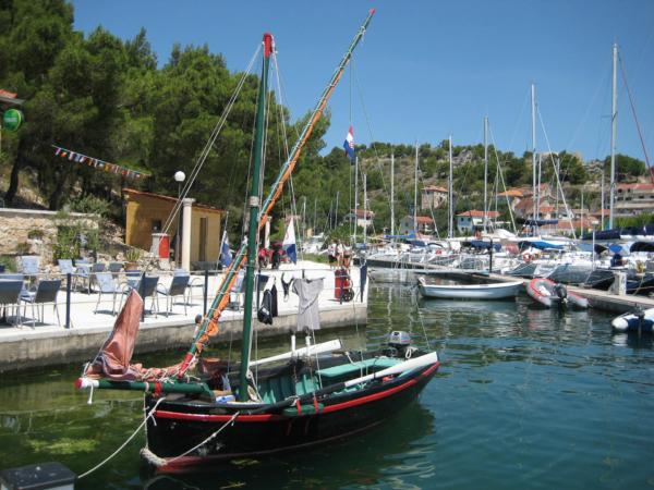 ACI marina Skradin - odtud je vstup do národního parku Krka.