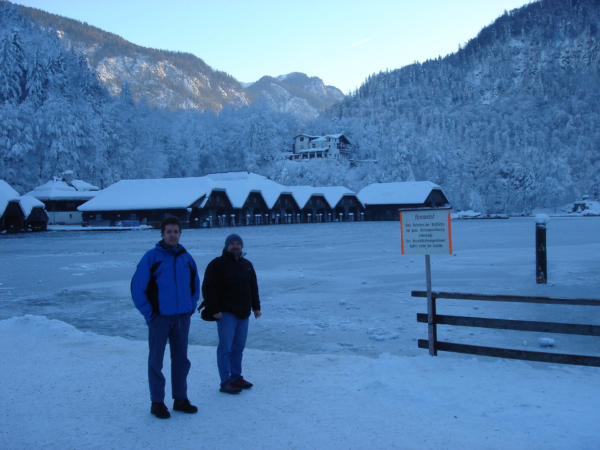 V Berchtesgadenu se fotíme u Königsee.