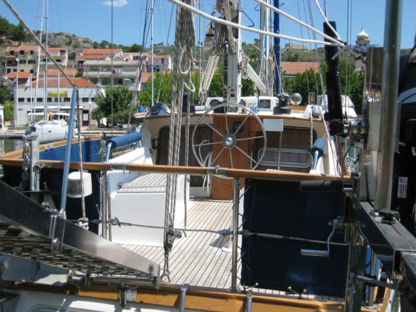 Pohled na palubu Nauticatu.