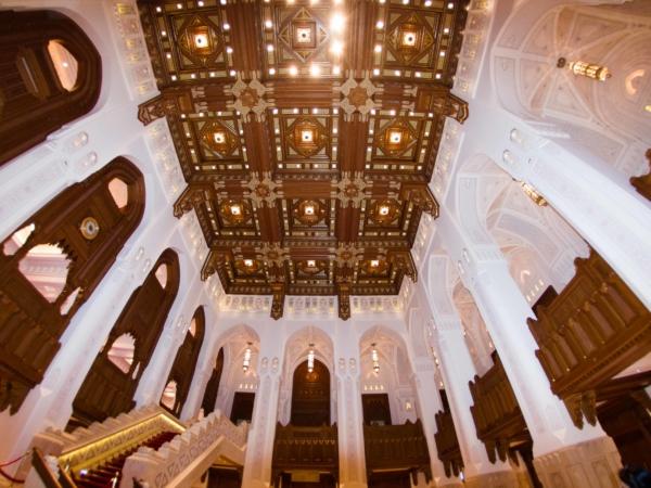 Královská opera - interiér - foceno rybím okem.