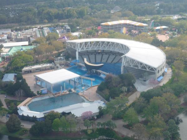 Stadium Shamu, kde se konájí představení