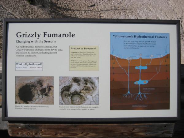 Vysvětlení co je fumarola.