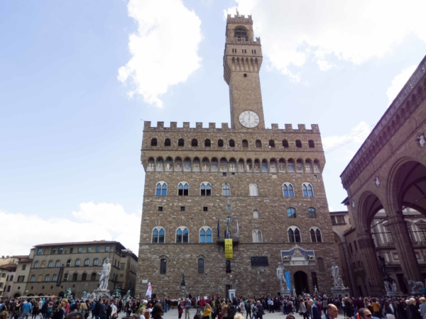 Palazzo Vecchio - dnes slouží jako radnice města.