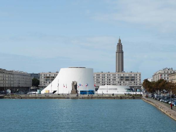 Poblíže centra v Le Havre.