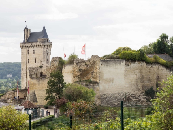 Zámek Chinon. Nebo spíše hrad.