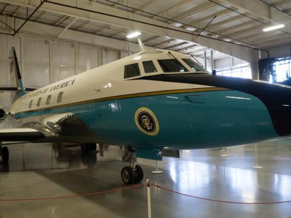 Bývalé Air Force One.