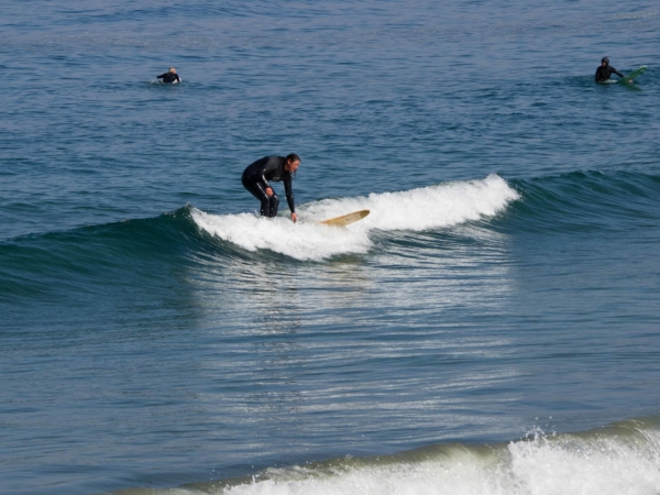A kde kdo tu surfuje.