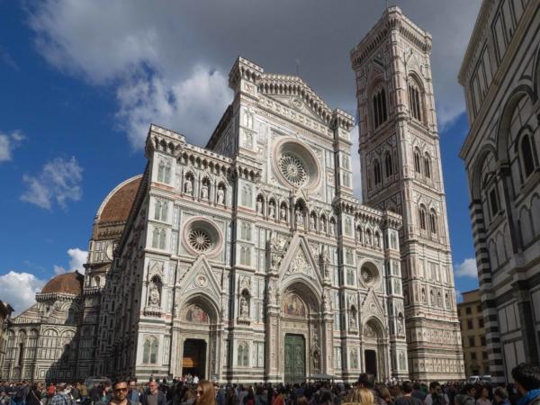 Duomo Santa Maria del Fiore - velmi impozantní.