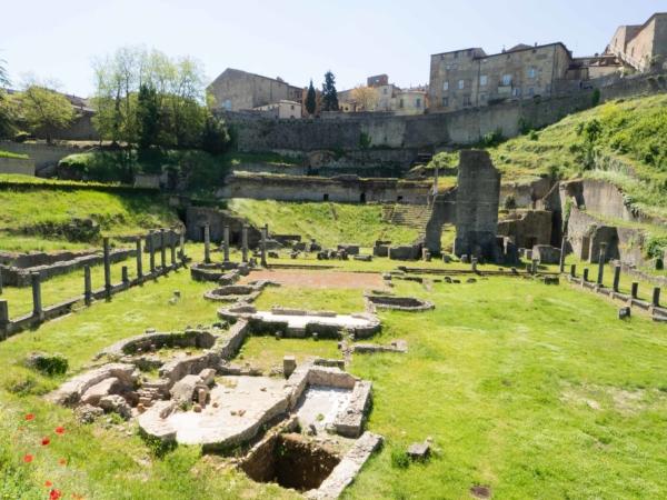 Volterra - vykopávky