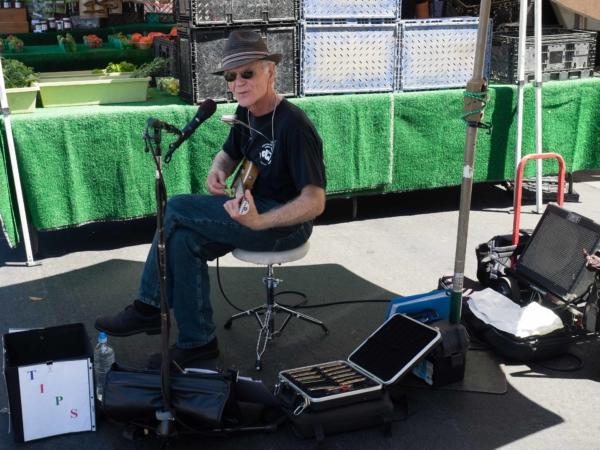 Muzikanti na trhu