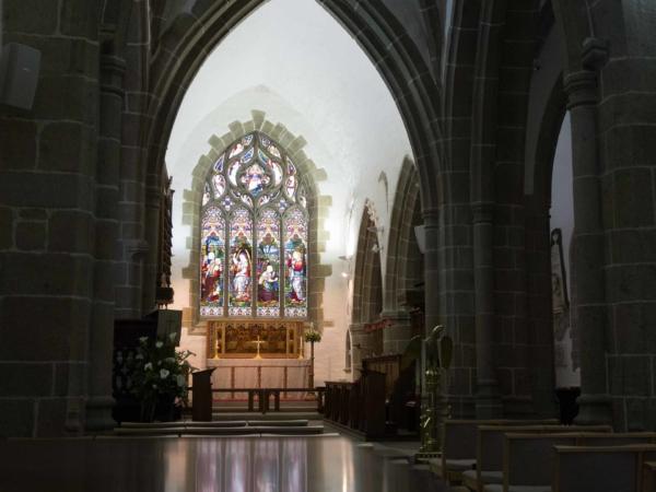 Návšteva kostela.