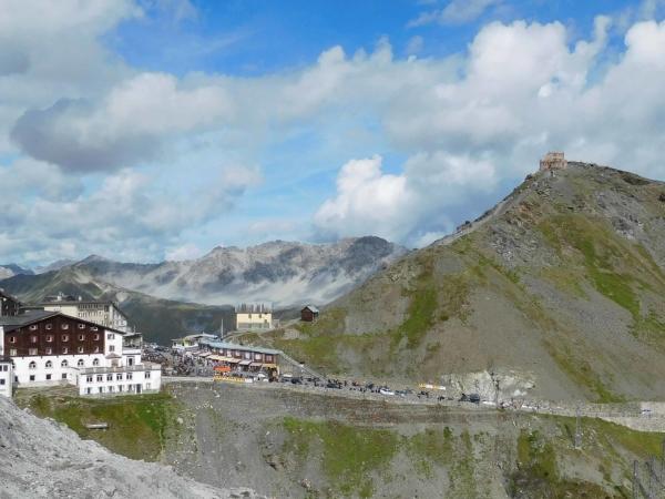 Passo Stelvio 2757m.