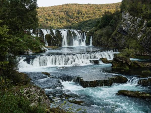 Vodopád Štrbački buk