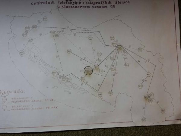 Rozmístění bunkrů po bývalé Jugoslávii.