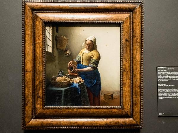 Vermeer - mlékařka
