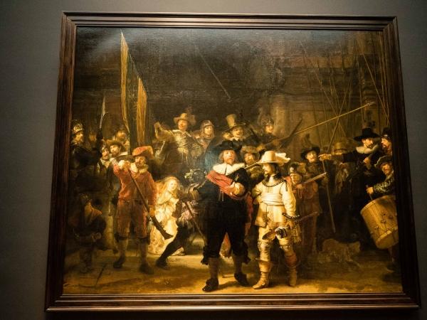 Rembrandt - Noční hlídka