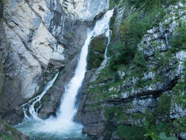 Vodopád Savica - 78m vysoký.