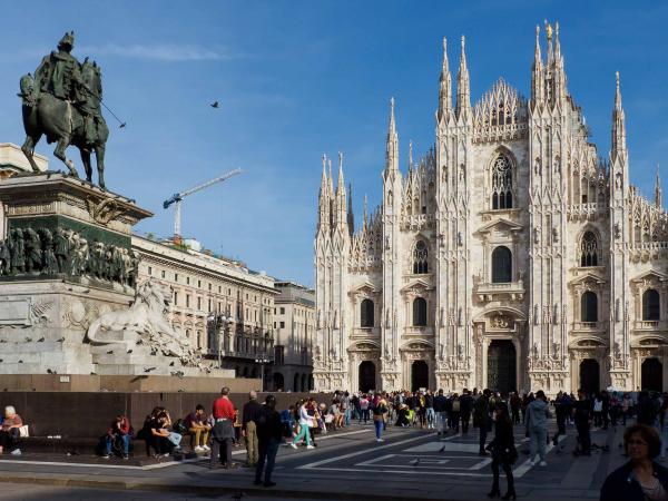 Katedrála narození Panny Marie na Piazza del Duomo