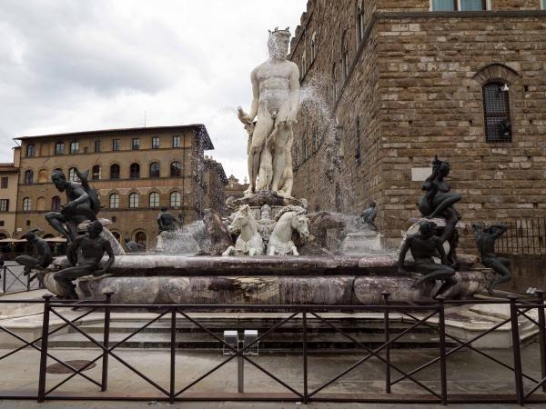 Neptunova fontána u Palazzo Vecchio.